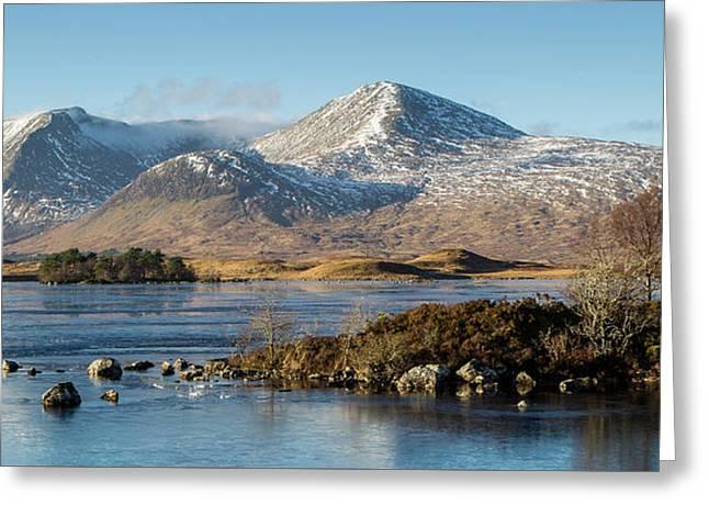 Rannoch Moor, Scotland Greeting Card
