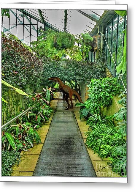 Raptor Seen In Kew Gardens Greeting Card