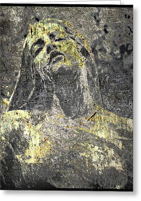 Rapture In Copper And Bronze Greeting Card by Tony Rubino