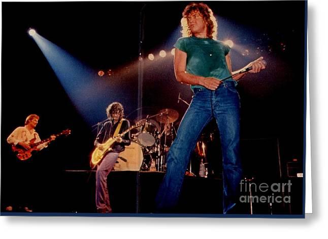 Rare Led Zeppelin Greeting Card