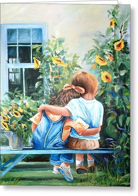Rare Moment Greeting Card by Yvonne Dagger