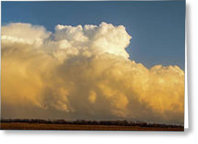 Rare Tornadic Supercells In Nebraska 005 Greeting Card