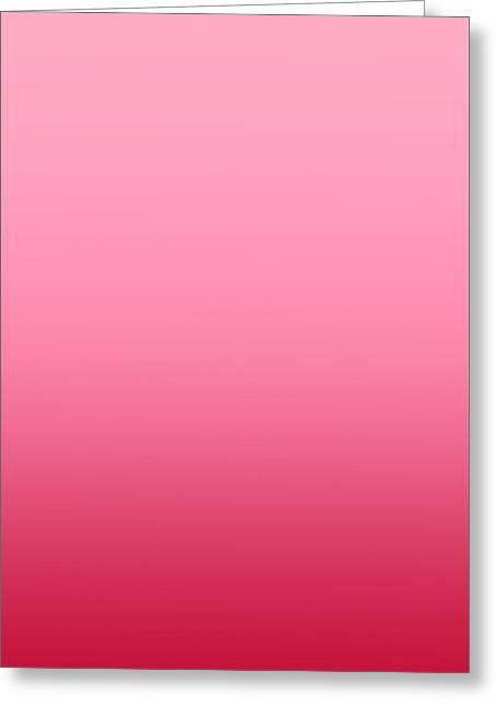 Raspberry Sorbet - R Blended Greeting Card by Custom Home Fashions