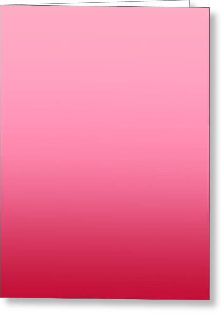 Raspberry Sorbet - Sq Blended Greeting Card by Custom Home Fashions