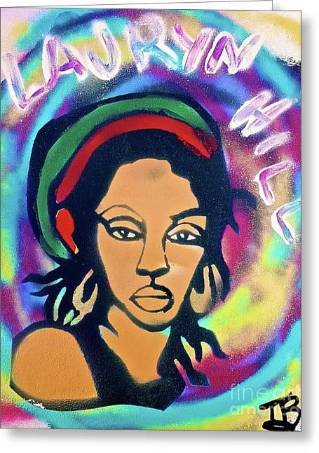 Rasta Lauryn Hill Greeting Card
