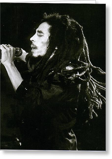 Rastafarian  Greeting Card by John Clarke