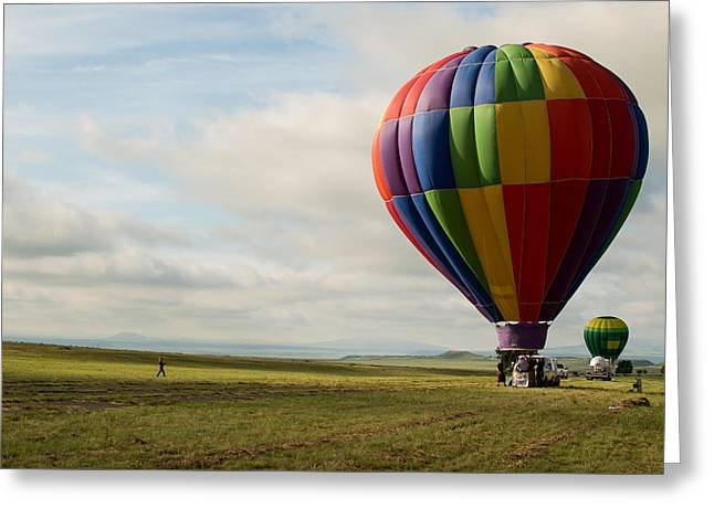 Raton Balloon Festival Greeting Card
