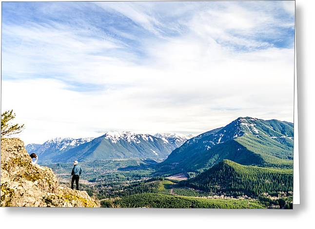 Rattlesnake Ledge Greeting Card