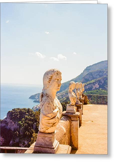 Ravello Amalfi Coast Italy Greeting Card