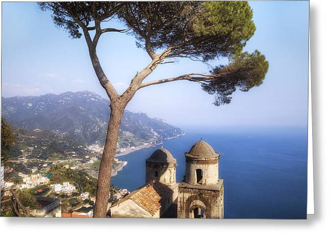 Ravello - Amalfi Coast Greeting Card by Joana Kruse