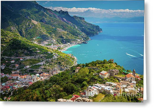 Ravello Coast Greeting Card