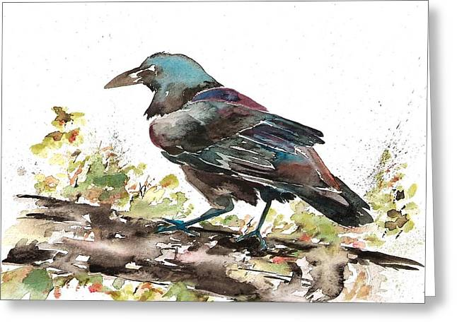 Raven 1 Greeting Card