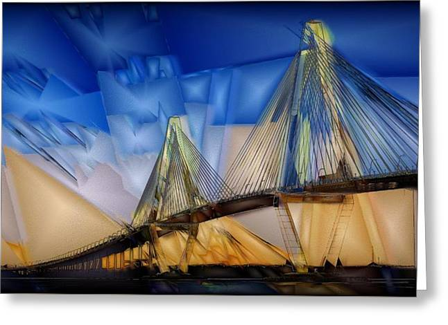 Ravenel At Dusk Greeting Card