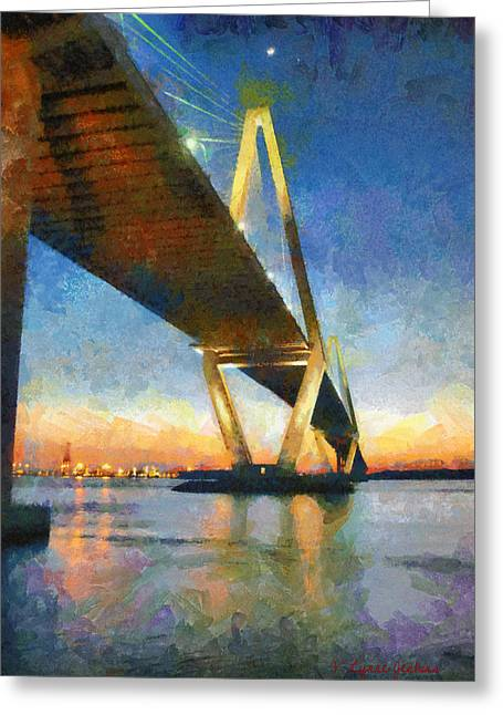 Ravenel Bridge Greeting Card