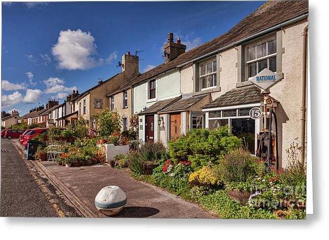 Ravenglass Cottages Greeting Card by Colin and Linda McKie