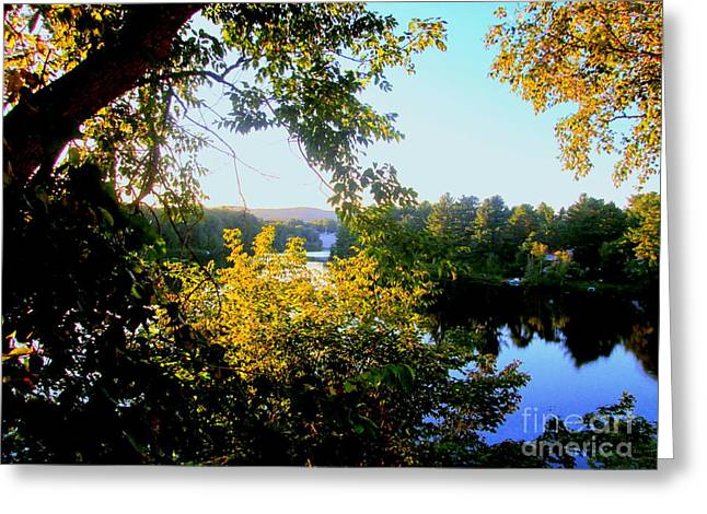 Greeting Card featuring the photograph Rawdon by Elfriede Fulda