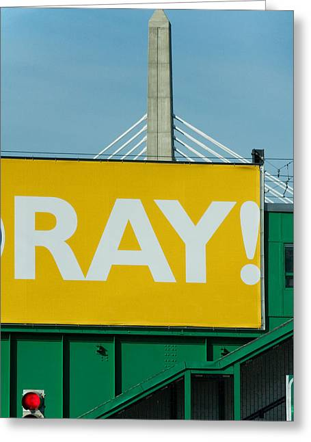 Ray Greeting Card by Art Ferrier