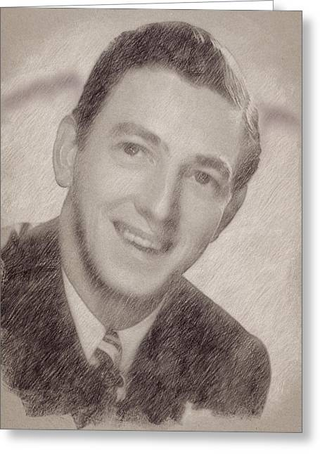 Ray Bolger Greeting Card by Esoterica Art Agency