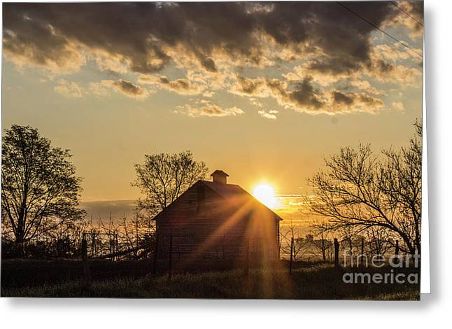 Ray Of Light Greeting Card by Doug Daniels