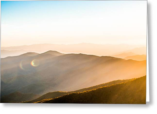 Rays Of Life Greeting Card by Shelby Young