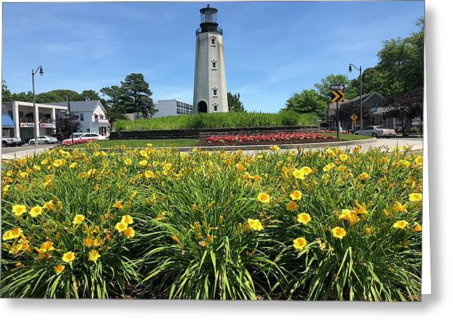 Rb Lighthouse Greeting Card