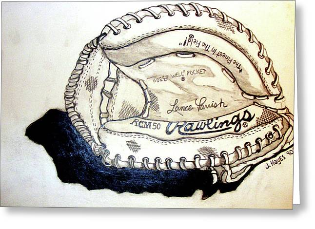 Rcm 50 Lance Parrish Greeting Card by Jame Hayes