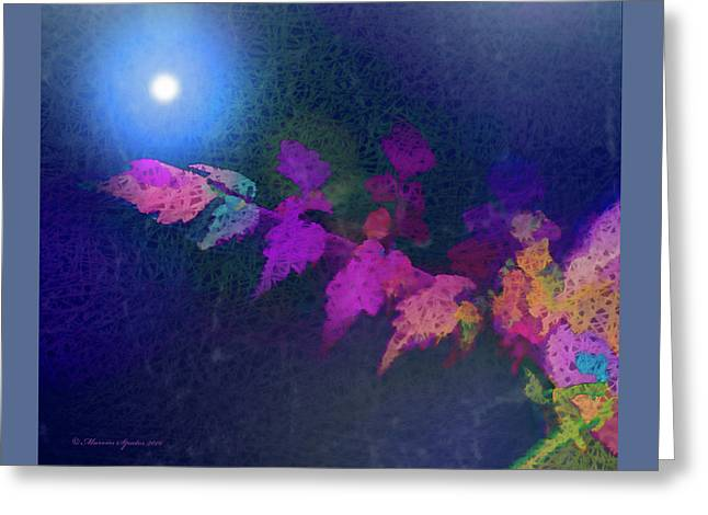 Reaching For The Light Greeting Card by Marvin Spates