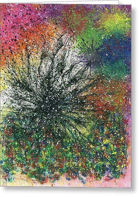 Reaching The Transcendent Realm #577 Greeting Card