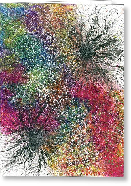 Reaching The Transcendent Realm #579 Greeting Card