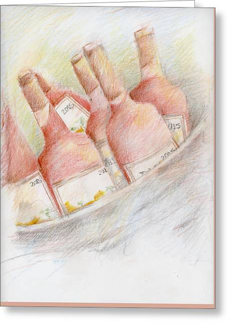Ready For Tasting Greeting Card by Barbara Jacobs
