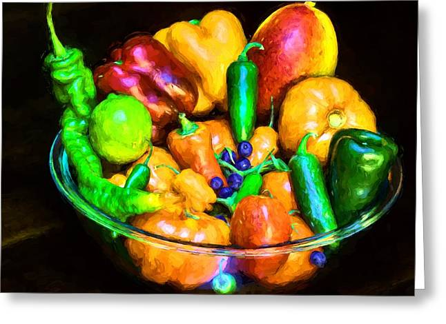 Ready For Salsa Greeting Card by JC Findley