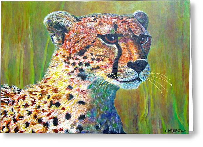 Ready For The Hunt Greeting Card by Michael Durst