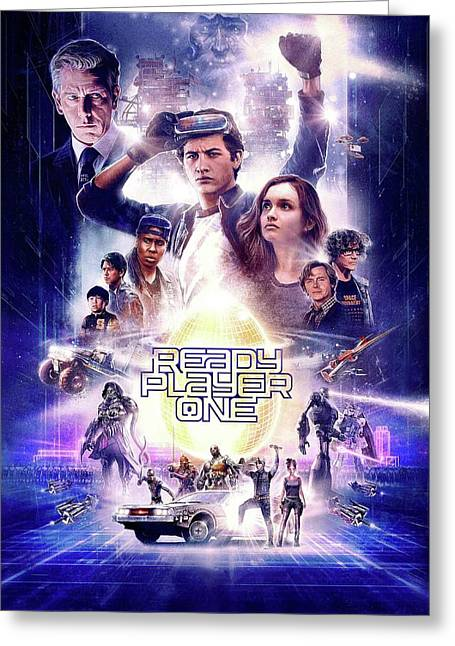 Ready Player One Greeting Card