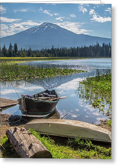 Ready To Fish Greeting Card
