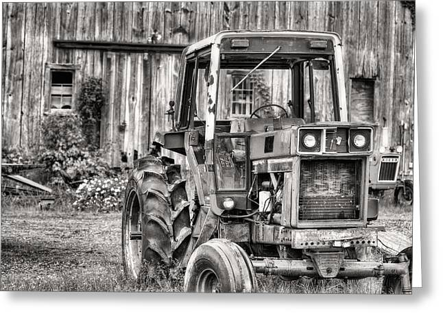 Fauquier County Greeting Cards - Ready to Go BW Greeting Card by JC Findley