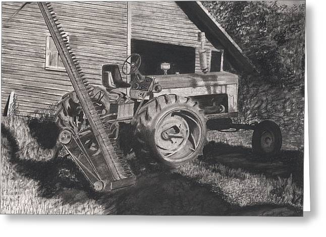 Ready To Mow Greeting Card