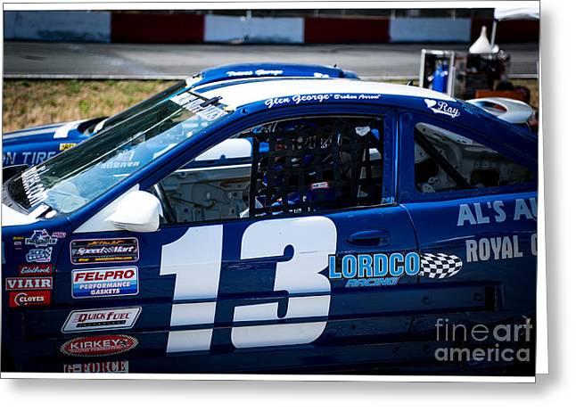 Ready To Race Greeting Card by Wayne Wilton