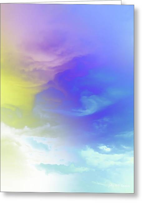 Realm Of Angels Greeting Card