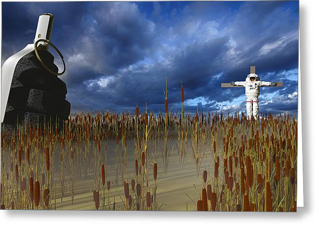 Reap What You Sow Greeting Card by Brainwave Pictures