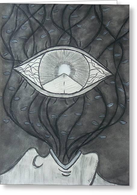 Rebirth Greeting Card by Marsha Ferguson