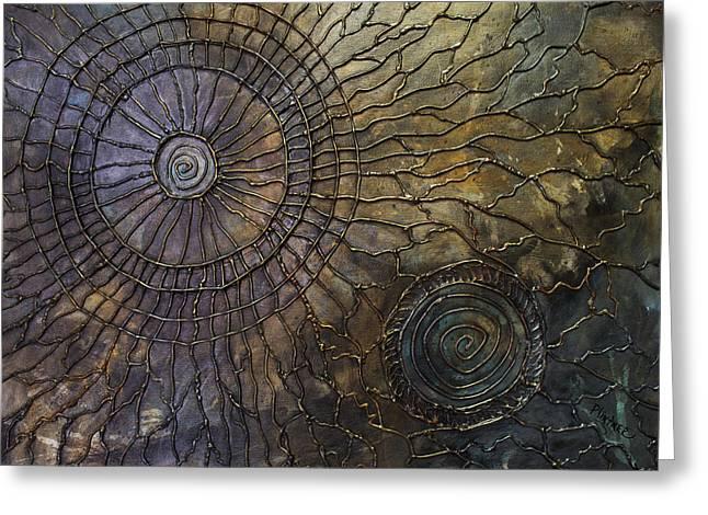 Rebirth Greeting Card by Patricia Lintner