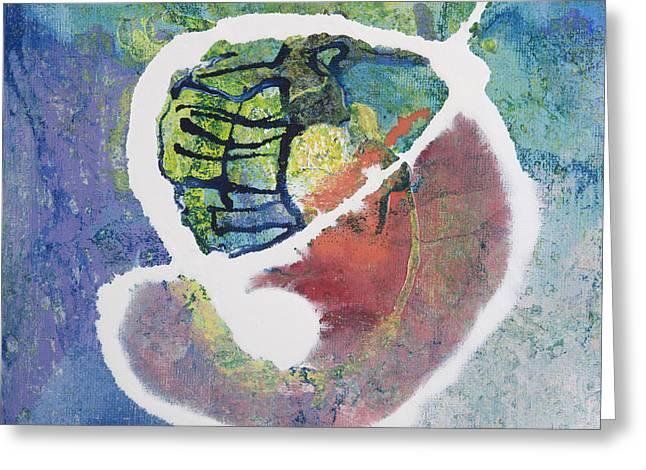Reborn Greeting Card by Vess Art