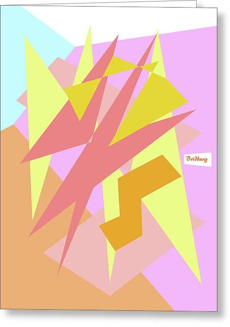 Recent 31 Greeting Card by David Bridburg