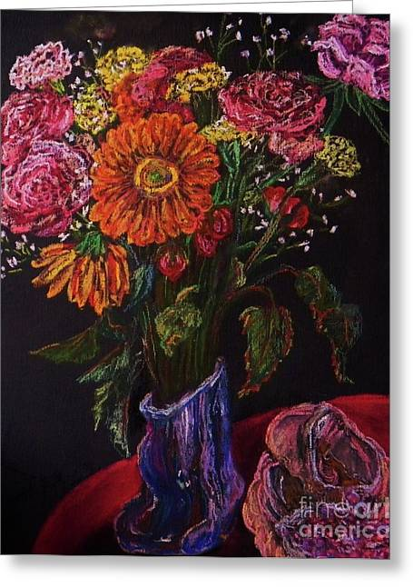 Recital Bouquet Greeting Card