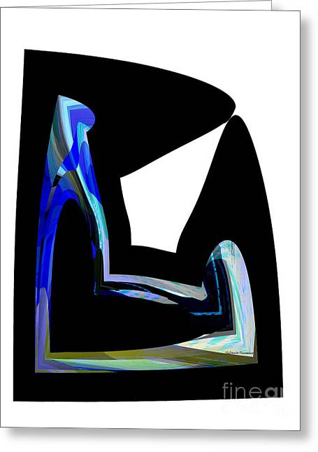 Recline Greeting Card by Thibault Toussaint