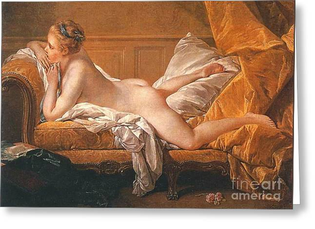 Reclining Nude 1752 Greeting Card