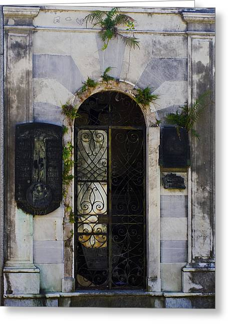Recoleta Door Greeting Card
