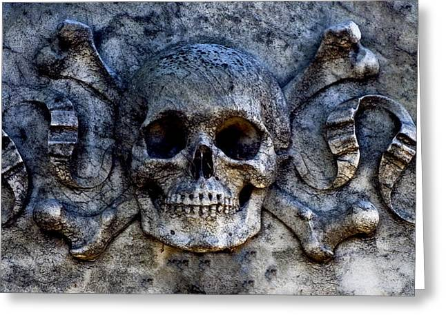 Recoleta Skull Greeting Card