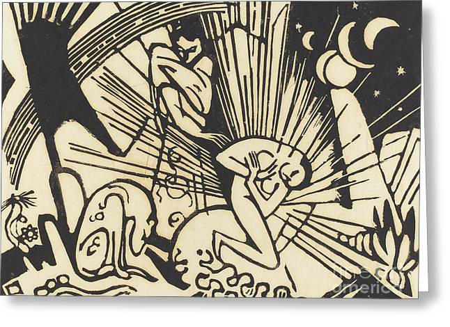 Reconciliation Greeting Card by Franz Marc