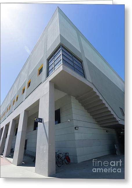 Recreational Sports Facility At University Of California Berkeley Dsc6310 Greeting Card